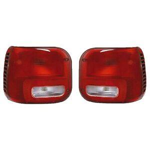 NEW TAIL LIGHT PAIR FITS DODGE RAM 1500 VAN 1995-03 RAM 2500 VAN 96-03 CH2801142