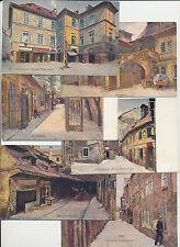 Kolorierte Kleinformat Ansichtskarten ab 1945