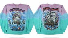 Grateful Dead Ship of Fools Long Sleeve Tie Dye T Shirt 2xl