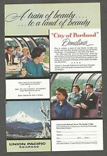 Union Pacific Railroad Train Magazine Ad  (1957)(Argus Light Meter on reverse)