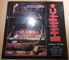 ICEBURN - Poetry of fire LP (Revelation, 1995) *rare Hardcore *sealed