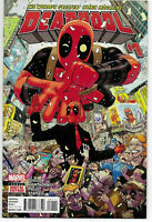 Deadpool #1 Vol 4 Marvel Comics 2016 NM Gerry Duggan Mike Hawthorne