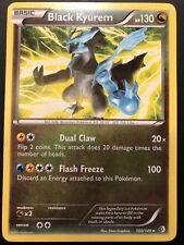 Carte Pokemon BLACK KYUREM 100/149 RARE N&B ENGLISH NEUF