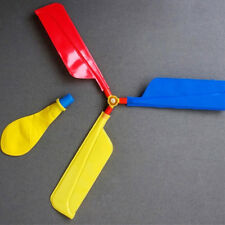 Kids Balloon Airplane Party Flying Saucer Flying Aircraft Whistling Toys For Kid