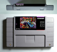 Teenage Mutant Ninja Turtles IV Turtle in The Time for Super Nintendo SNES US/C