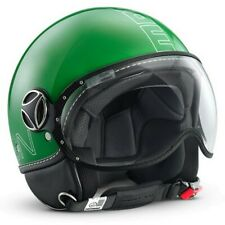 Casco Helmet Casque Helm Jet Momo Fighter Glam Verde New 2012 PREZZO STOCK