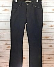 HARLEY-DAVIDSON BLACK GENUINE MOTOR CLOTHES JEANS BOOT CUT WOMENS SIZE 6