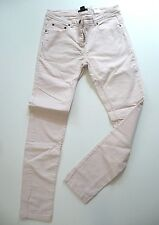 Jean Slim H&M Taille S 36 Rose nude Femme