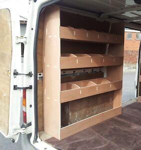 Ford Transit MK7 SWB Van, Plywood Racking ,Plywood Shelving ,Van Storage