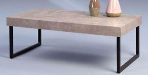 Couchtisch Beistelltisch - ALESSA 3 - Wohnzimmertisch Tisch in Betonoptik
