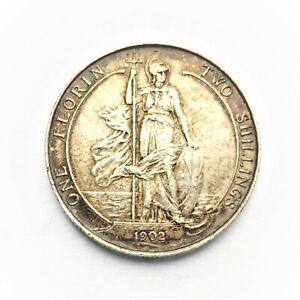 Edward VII  Florin Two Shillings 1902 EF