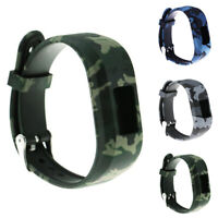 KQ_ Replace Camouflage Silicone Wrist Strap Watch Band for Garmin Vivofit JR2 HO