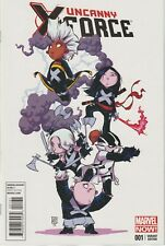 Uncanny X-force #1 - Skottie Young Variant Cover VF+/NM