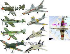 1/144 Aircraft KOKU Select Fan F-14A P-51B Bf109E-4 F-86F F-Toys set 8pcs+SP2
