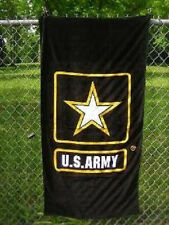 US Army Emblem Logo Beach Towel 30 X 60 (cotton Twill)
