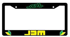 Black License Frame Eat Sleep JDM