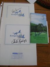 New listing Golf Autograph collection of Chi Chi Rodriguez, Hal Sutton, and Dale Irwin