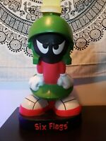 1997 Looney Tunes Marvin The Martian Six Flags Great America Coin Bank Vintage