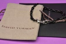 David yurman chain link bracelet With Black Titanium