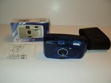 NEW Mitsuba Camera 35mm Focus Free Blue Item # 3204 With Case