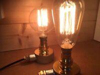 INDUSTRIAL - STEAMPUNK - VINTAGE - RETRO - DESK LAMP