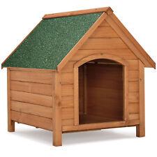 Hundehütte Hundehaus Wetterfest Dachluke Hund Hundehöhle klappbares Bitumendach