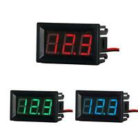 Mini 0.56in DC 2.5V-30V 2-Wire LCD Digital Voltmeter Panel Voltage Meter R1BO