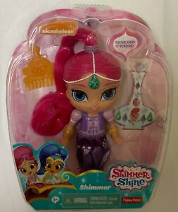 """NIB Fisher-Price Shimmer and Shine - Shimmer Pink 6"""" Doll Toy"""