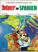 GROSSER ASTERIX BAND XIV Asterix in Spanien - TOP Z0-1 ORIGINAL ERSTAUFLAGE