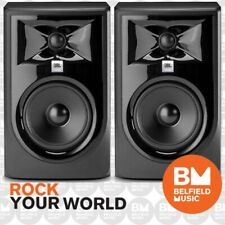 "2 x JBL LSR305 MKII Powered Active Studio Monitor Speaker 5 Inch LSR-305 5"" Pair"