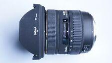OLYMPUS FIT Sigma EX 10-20 mm f/4.0-5.6 DC HSM Lens + CAPS + CASE Olympus 4/3