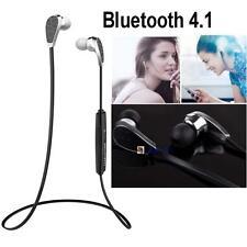 Bluedio Bluetooth 4.1 Sports Headset Earphone Wireless Stereo Headphone Black BD