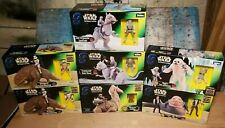 Star Wars Trilogy Power Of The Force Figure Sets Variety: Dewback,Tauntaun,Wampa