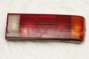 BMW E30 Rear Tail Light Left Driver Side OEM 1368823 incl back piece