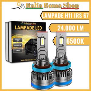 Coppia Lampade Led Per Auto Moto H11 IRS 67 6500K 24.000LM LUCE BIANCO GHIACCIO