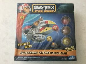 New Angry Birds Star Wars Millennium Falcon Bounce Game 3 Characters Included