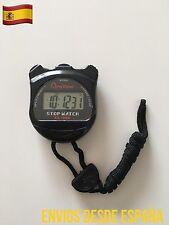 Cronómetro Deportivo Digital LCD Temporizador Atletismo Natación Alarma