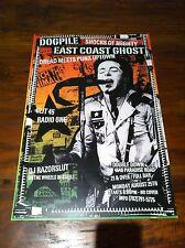 CLIT 45/ RADIO ONE Dogpile & East Coast Ghost Clothing Gig POSTER VINTAGE RARE