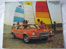 1977 77 Ford PINTO FACTORY BROCHURE MANUAL SERVICE PONY WAGON RUNABOUT PAMPHLET