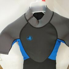 Body Glove Springsuit PRO Wetsuit YOUTH Unisex Small Black / Blue 70/80 lbs NWT