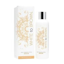 White to Brown Self Tanning Lotion Medium 250ml