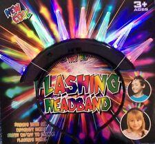 Light Up Spike Punk Mohawk Headband, Party, Halloween, Disco, Fancy Dress