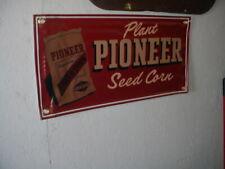 PIONEER SEED CORN VINYL BANNER-  2 FEET BY 1 FOOT