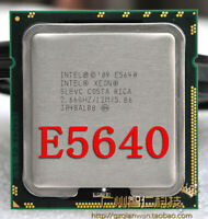 Intel Xeon E5640 2.66GHz 12MB 5.86GT/s QPI SLBVC Quad-Core Processor DELL HP IBM