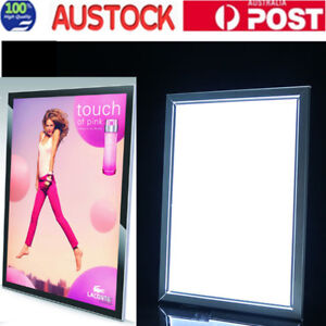 A1 A2 A3 LED Light Box Advertising Aluminum Snap Frame Backlit Board PosterFrame