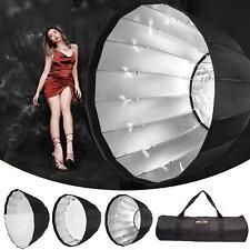 Parabolique Softbox 190 Cm Parapluie Flash Réflecteur profonde et rapide Boîte Bowens S fit UK