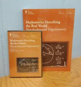 Mathematics Describing The Real World: Precalculus & Trigonometry NEW DVD & Book