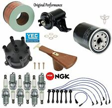 Tune Up Kit Cap Rotor Filters Wire Set Spark Plugs for Lexus LX450 1996-1997