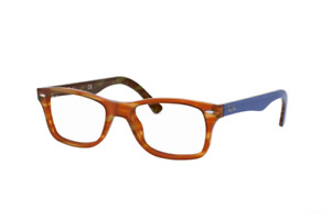 NEW AUTHENTIC RAY BAN RB 5228 5799 Light Brown Havana Eyeglasses 53mm 17 140