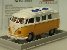 Brekina VW T1 Camper, geschl. Dormobildach, gelb-weiss - 31574 - 1/87